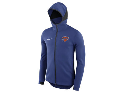 New York Knicks Nike NBA Men's Dry Showtime Full Zip Hoodie