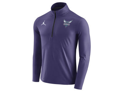 Charlotte Hornets Jordan NBA Men's Half Zip Element Long Sleeve Pullover