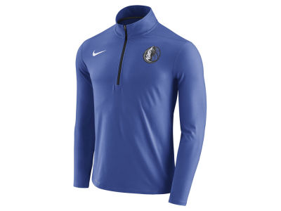 Dallas Mavericks Nike NBA Men's Half Zip Element Long Sleeve Pullover