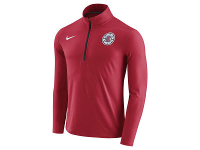 Los Angeles Clippers Nike NBA Men's Half Zip Element Long Sleeve Pullover