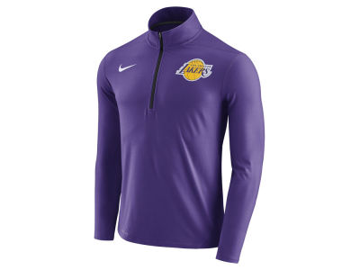 Los Angeles Lakers Nike NBA Men's Half Zip Element Long Sleeve Pullover