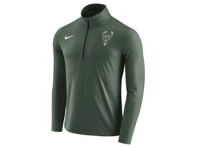 Milwaukee Bucks Nike NBA Men's Half Zip Element Long Sleeve Pullover