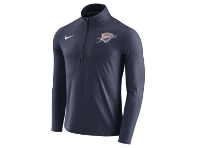 Oklahoma City Thunder Nike NBA Men's Half Zip Element Long Sleeve Pullover