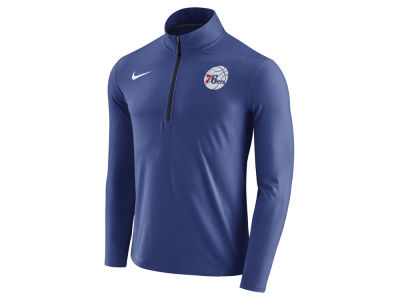 Philadelphia 76ers Nike NBA Men's Half Zip Element Long Sleeve Pullover