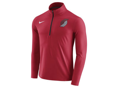 Portland Trail Blazers Nike NBA Men's Half Zip Element Long Sleeve Pullover