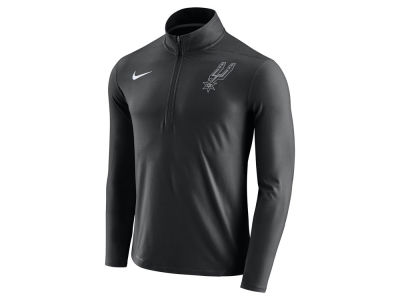San Antonio Spurs Nike NBA Men's Half Zip Element Long Sleeve Pullover