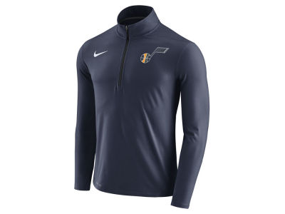 Utah Jazz Nike NBA Men's Half Zip Element Long Sleeve Pullover