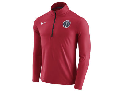 Washington Wizards Nike NBA Men's Half Zip Element Long Sleeve Pullover