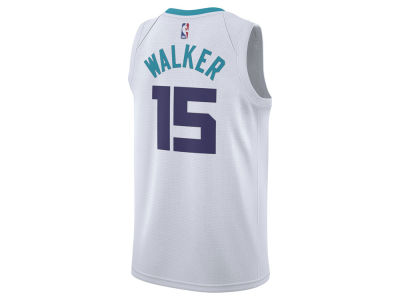 Charlotte Hornets Kemba Walker Nike NBA Men's Association Swingman Jersey