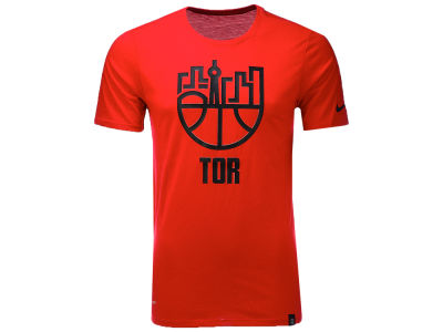 Toronto Raptors Nike NBA Men's Dri-Blend Cityscape T-shirt