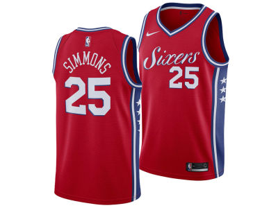 Philadelphia 76ers Ben Simmons Nike NBA Men's Statement Swingman Jersey