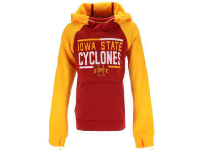Iowa State Cyclones Outerstuff NCAA Youth Girls Format Funnel Hoodie