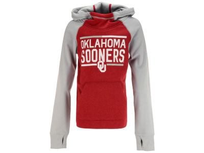 Oklahoma Sooners Outerstuff NCAA Youth Girls Format Funnel Hoodie