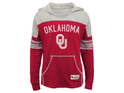 Oklahoma Sooners Outerstuff NCAA Youth Girls Monument Slouchy Hoodie