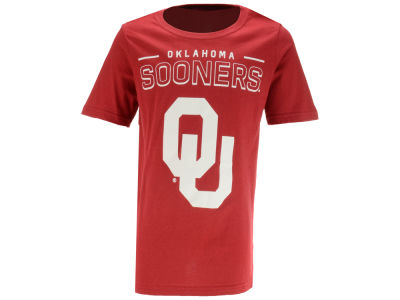 Oklahoma Sooners Outerstuff NCAA Youth Straight Pass T-Shirt