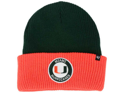 Miami Hurricanes '47 NCAA Ice Block Knit