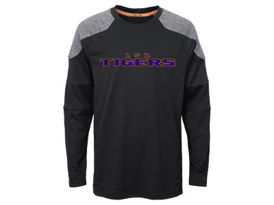 LSU Tigers Outerstuff NCAA Youth Gamma Long Sleeve T-Shirt