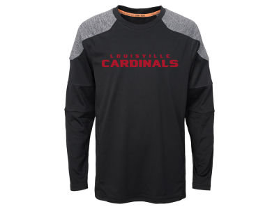 Louisville Cardinals Outerstuff NCAA Youth Gamma Long Sleeve T-Shirt