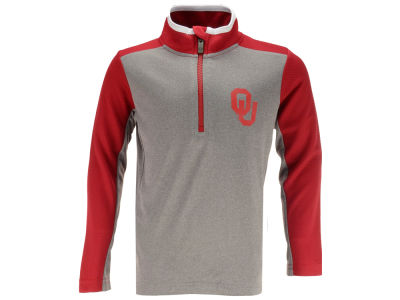 Oklahoma Sooners Outerstuff NCAA Youth Matrix Quarter Zip Pullover