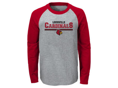 Louisville Cardinals Outerstuff NCAA Youth Field Line Long Sleeve T-Shirt