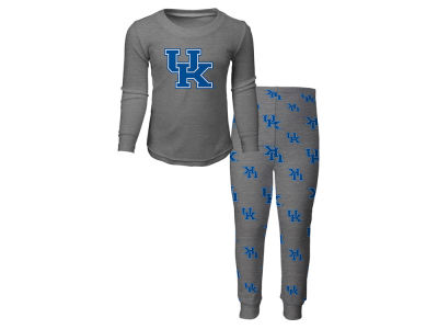 Kentucky Wildcats Outerstuff NCAA Toddler Long Sleeve T-shirt and Pant PJ Set
