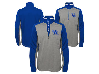 Kentucky Wildcats Outerstuff NCAA Kids Matrix Quarter Zip Top