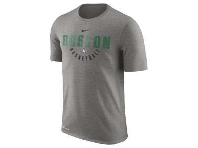 Boston Celtics Nike NBA Men's Dri-Fit Cotton Practice T-Shirt