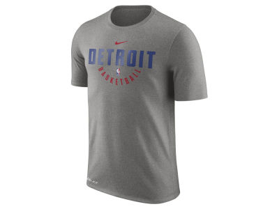 Detroit Pistons Nike NBA Men's Dri-Fit Cotton Practice T-Shirt
