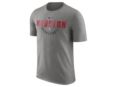 Houston Rockets Nike NBA Men's Dri-Fit Cotton Practice T-Shirt
