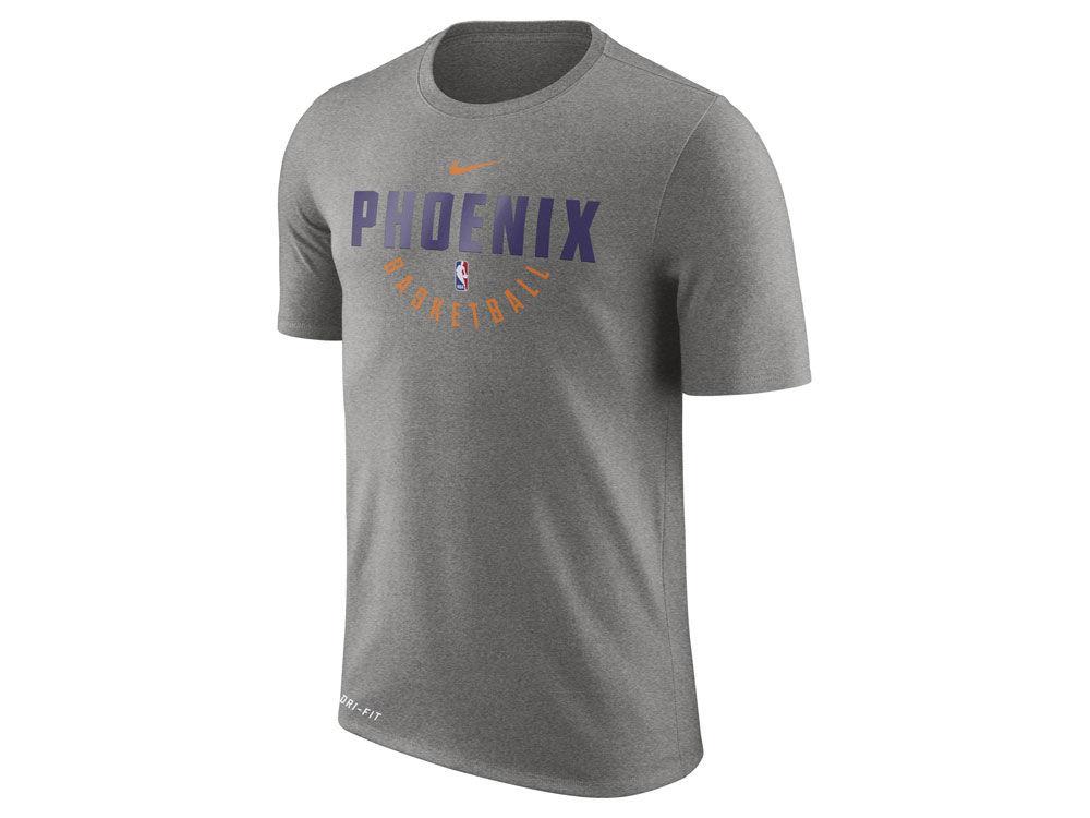 a2f8a5bb33d ... official phoenix suns nike nba mens dri fit cotton practice t shirt  f4ca3 62341