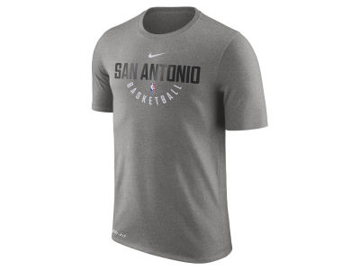 San Antonio Spurs Nike NBA Men's Dri-Fit Cotton Practice T-Shirt