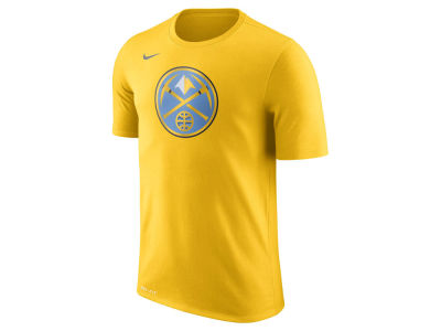 Denver Nuggets Nike NBA Men's Dri-Fit Cotton Logo T-Shirt