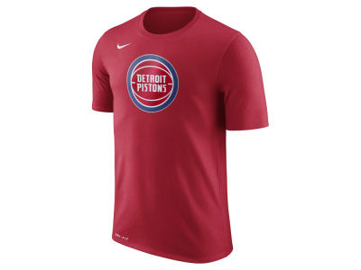 Detroit Pistons Nike NBA Men's Dri-Fit Cotton Logo T-Shirt