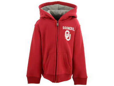Oklahoma Sooners Outerstuff NCAA Toddler Red Zone Full Zip Hoodie