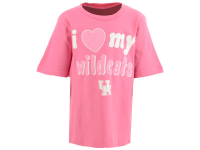 Kentucky Wildcats Outerstuff NCAA Toddler Girls Heart My Team T-Shirt