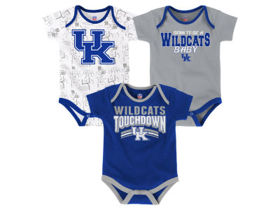Kentucky Wildcats Outerstuff NCAA Infant Playermaker 3 Piece Creeper Set