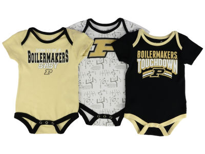 Purdue Boilermakers Outerstuff NCAA Infant Playermaker 3 Piece Creeper Set