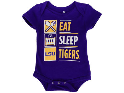 LSU Tigers Outerstuff NCAA Newborn All I Do Creeper