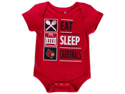 Louisville Cardinals Outerstuff NCAA Newborn All I Do Creeper