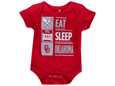 Oklahoma Sooners Outerstuff NCAA Newborn All I Do Creeper