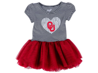 Oklahoma Sooners Outerstuff NCAA Newborn Tutu Sequins Dress