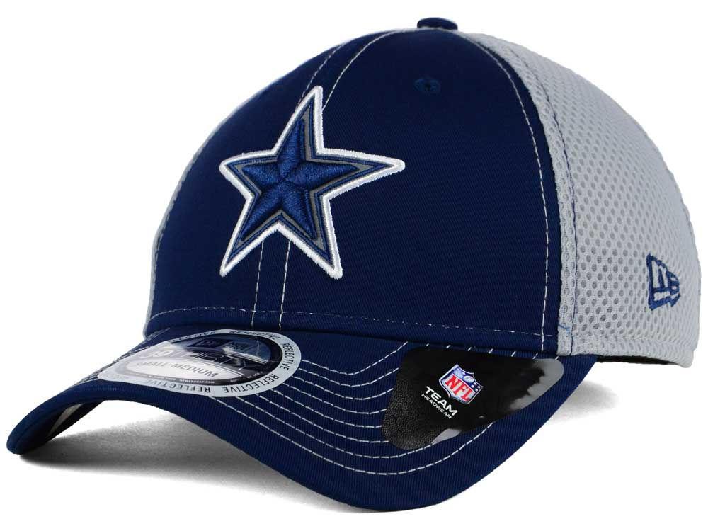 Dallas Cowboys New Era NFL Pop Flect 39THIRTY Cap  d6be67015746