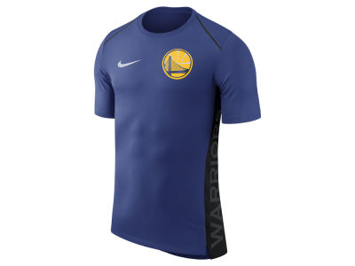 Golden State Warriors Nike NBA Men's Hyperlite Short Sleeve Shooter T-shirt