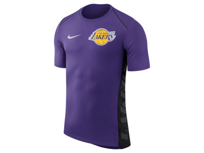 Los Angeles Lakers Nike NBA Men's Hyperlite Short Sleeve Shooter T-shirt