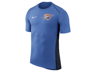 Oklahoma City Thunder Nike NBA Men's Hyperlite Short Sleeve Shooter T-shirt
