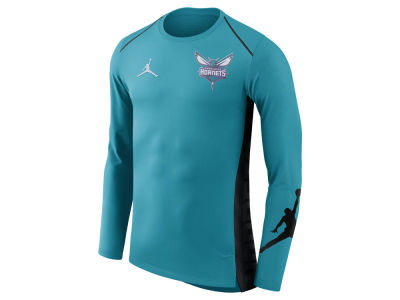Charlotte Hornets Jordan NBA Men's Hyperlite Long Sleeve Shooter T-shirt