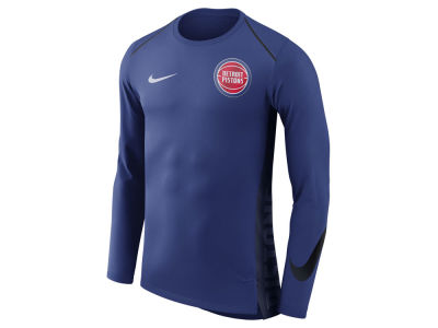 Detroit Pistons Nike NBA Men's Hyperlite Long Sleeve Shooter T-shirt
