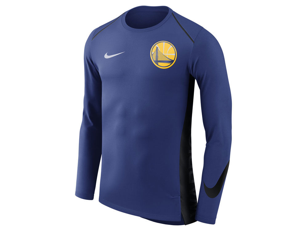 Golden State Warriors Nike NBA Men s Hyperlite Long Sleeve Shooter T-shirt   823a506b0