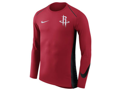 Houston Rockets Nike NBA Men's Hyperlite Long Sleeve Shooter T-shirt