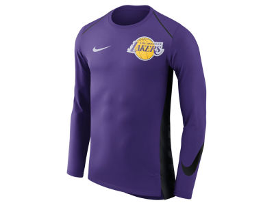 Los Angeles Lakers Nike NBA Men's Hyperlite Long Sleeve Shooter T-shirt